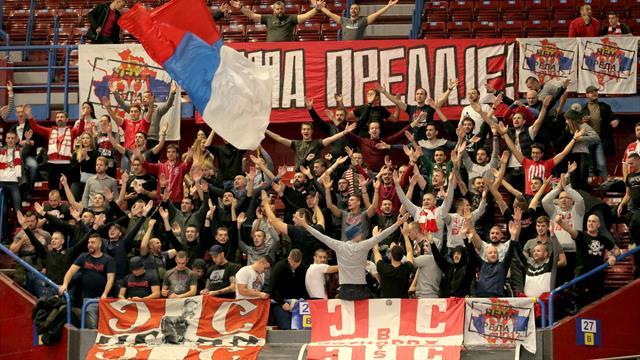 Ультрас «Црвены Звезды» поддержали акцию российских болельщиков против действий полиции
