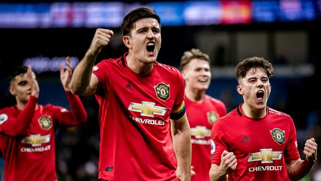 Manchester United go fifth with stunning derby win