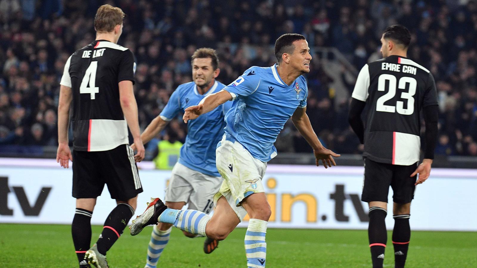 La Lazio se impone a la Juventus (3-1); el Inter sigue líder tras empatar frente a la Roma (0-0)
