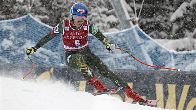 Highlights: Shiffrin downhill runner-up behind Schmidhofer at Lake Louise