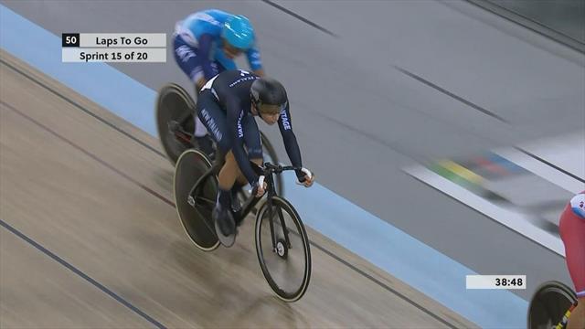 Arriva un podio per l'Italia da Cambridge: Scartezzini-Lamon terzi nella madison maschile
