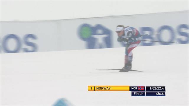 'Never, ever in doubt!' - Norway dominate women's relay