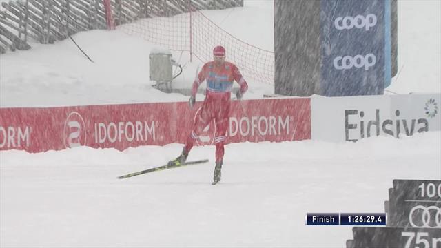 Russia II lead home Russia I in men's relay
