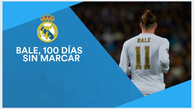 Bale, 100 días sin marcar