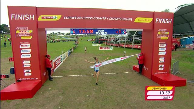Europeos de campo a través: Nadia Battocletti se lleva un oro muy disputado