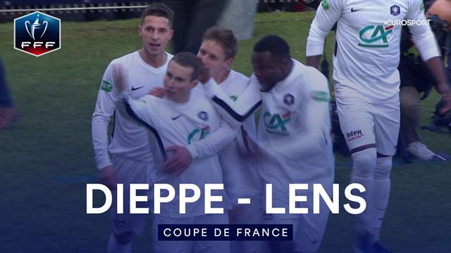 Lens est tombé chez une N3 : les images de l'exploit de Dieppe