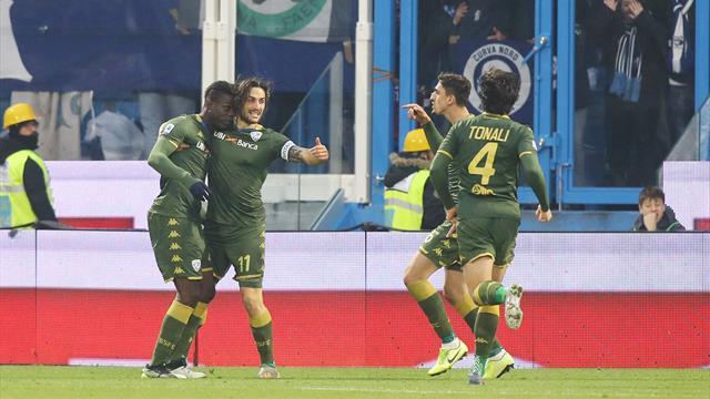 Balotelli-gol, il ritorno di Corini è dolcissimo per il Brescia: è 0-1 in casa della SPAL