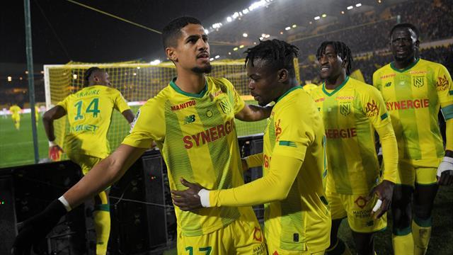 Le FC Nantes bat de justesse Dijon
