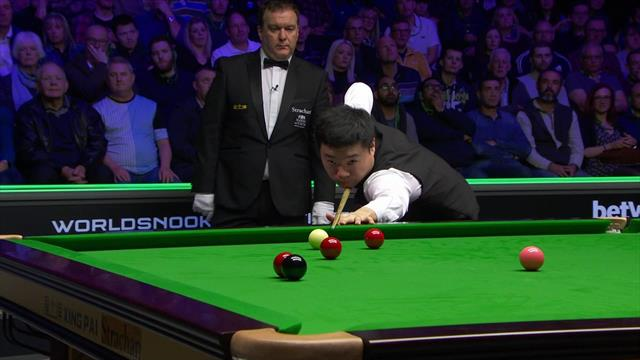 'Listen to the crowd!' – The moment Ding won UK Championship