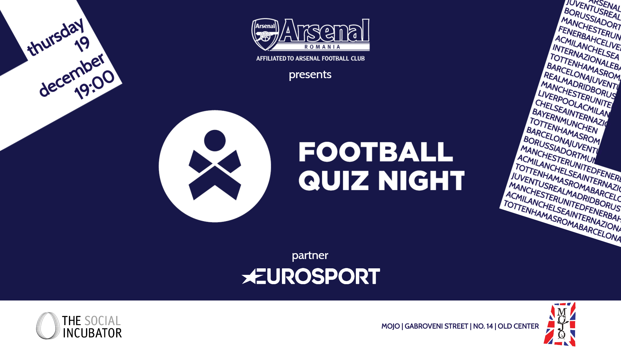 Football Quiz Night