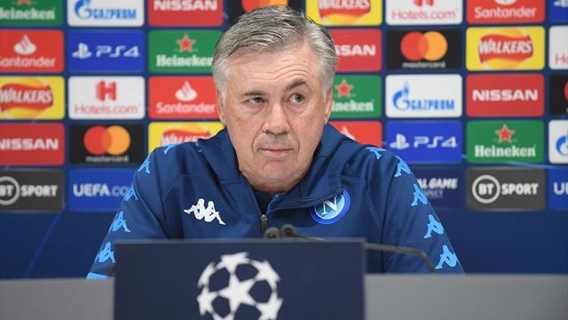 Champions, Ancelotti scuote il Napoli e lascia un indizio sul futuro
