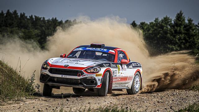 Fun and fast: Polonski relished ERC Abarth season