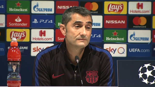 Valverde justifies decision to rest Messi