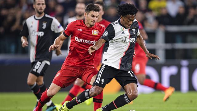 Bayer Leverkusen-Juventus, Sarri e Pjanic in conferenza