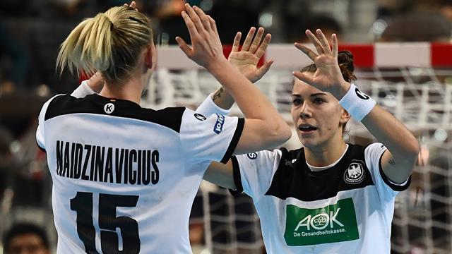 """Kampf um WM-Halbfinale: Handballerinnen mit """"viel Selbstvertrauen"""""""