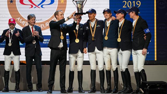 Europe undefeatable in the Riders Masters Cup