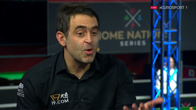 'I wanted to banana it in' - Ronnie O'Sullivan explains what happened with bizarre missed black