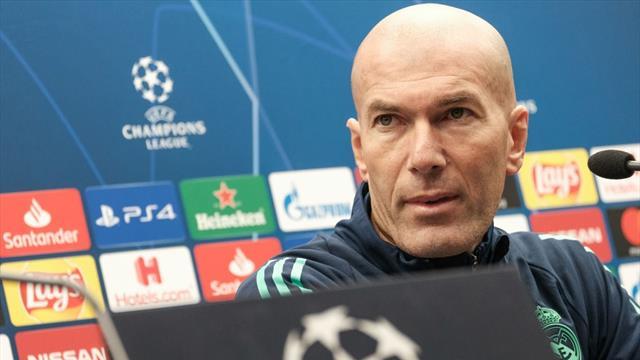 """Zidane: """"No creo que haya que operar a Hazard"""""""