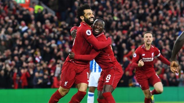 Keita e Salah piegano il Salisburgo: Liverpool agli ottavi da primo del girone