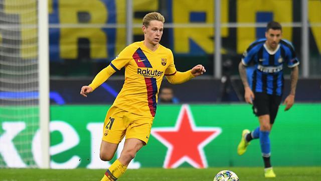 De Jong doit s'inspirer de l'an passé pour faire briller le Barça