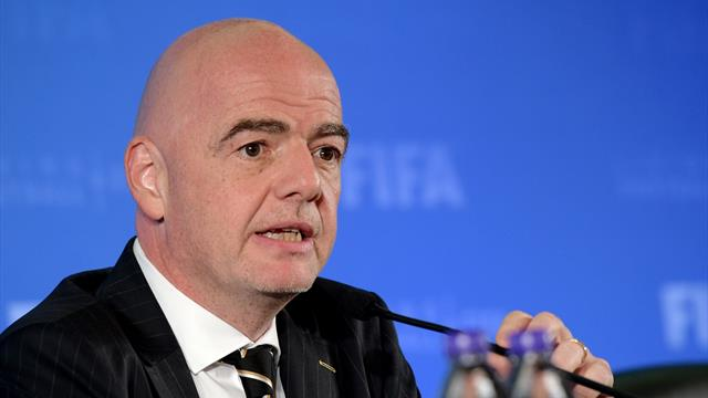 Infantino joins IOC as member to end FIFA's five-year absence
