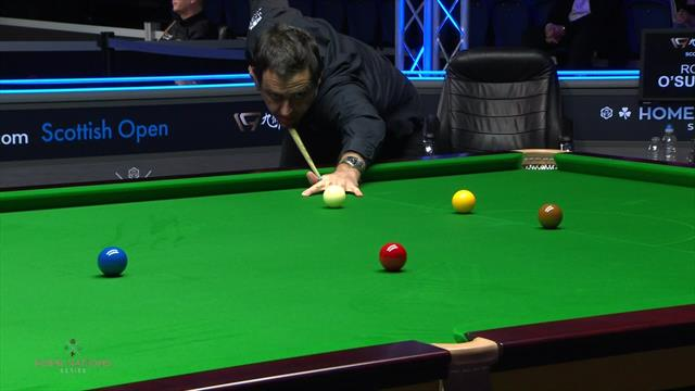 'What a start' - O'Sullivan hits 111 in just five minutes