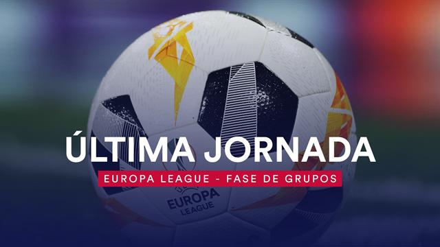 Lo que hay en juego en la Europa League: Última jornada de la fase de grupos