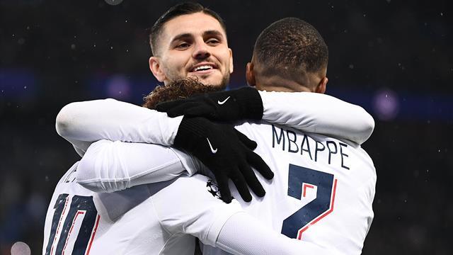"""Le PSG avec ses """"Quatre fantastiques"""" face à l'ASSE"""