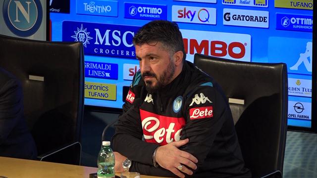 """Gattuso: """"Imbarazzante vedere il Napoli settimo: punto ad arrivare in Champions"""""""