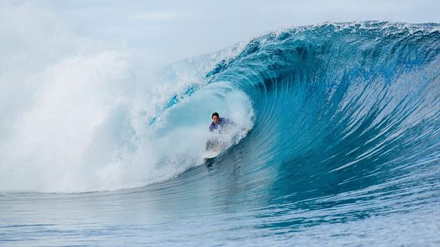 Les épreuves de surf auront bien lieu à Tahiti
