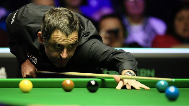 Viertes Break über 50: O'Sullivans souveränes Finish gegen Zhang