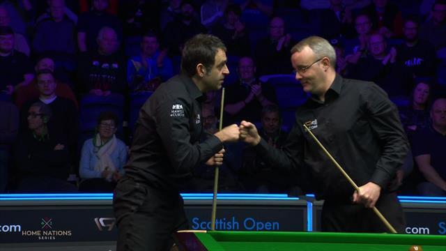Scottish Open: O'Sullivan vuela a octavos sin ningún problema ante Gould