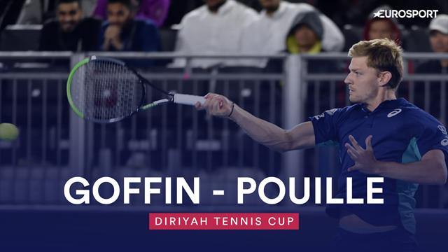 Diriyah Tennis Cup, Goffin-Pouille: El belga completa unas semifinales de ensueño