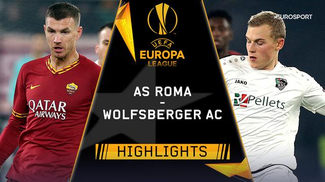 Höjdpunkter: AS Roma - Wolfsberger AC