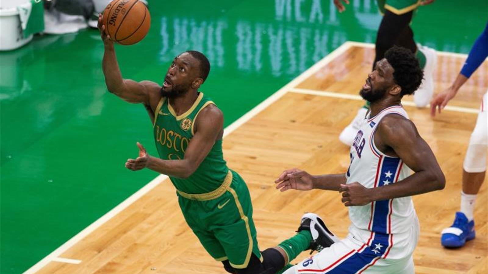 109-115. Embiid impone su poder y Sixers quitan a Celtics el invicto de local