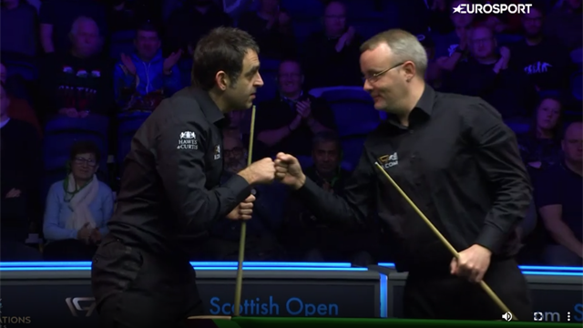 Highlights: O'Sullivan 'outstanding' on day four at Scottish Open