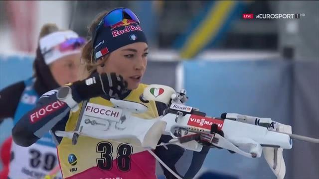 Dorothea Wierer spettacolare! Primo posto nella sprint di Hochfilzen, 50° podio in carriera