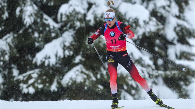 Un Johannes Boe parfait remporte la poursuite Reuters • 14/12/2019 à 15:51