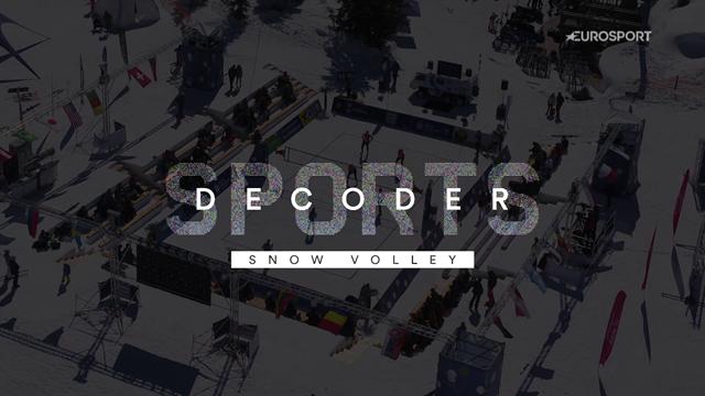 De la neige, un filet et bientôt un championnat du monde : Découvrez le snow volley