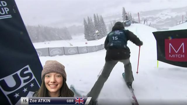 Watch Zoe Atkin's amazing winning halfpipe performance in Copper Mountain