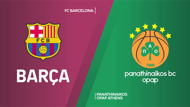 Highlights: FC Barcellona-Panathinaikos OPAP Atene 98-86