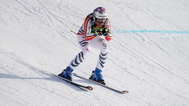 Trotz Sturm im oberen Teil: So meistert Rebensburg den Super-G in St. Moritz