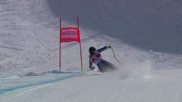 'Unbelievable skiing!' - Goggia takes dramatic Super-G victory