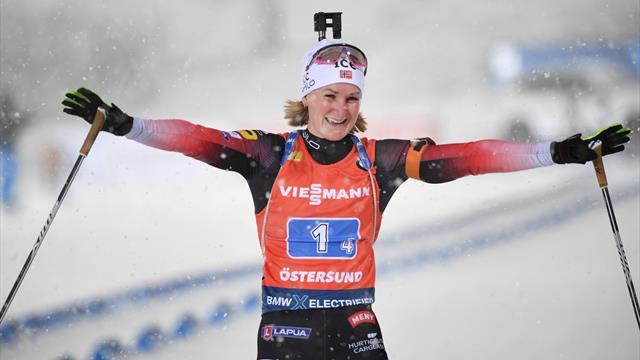 Ganz starkes Finish: Olsbu-Roeiseland sichert Norwegen den Sieg