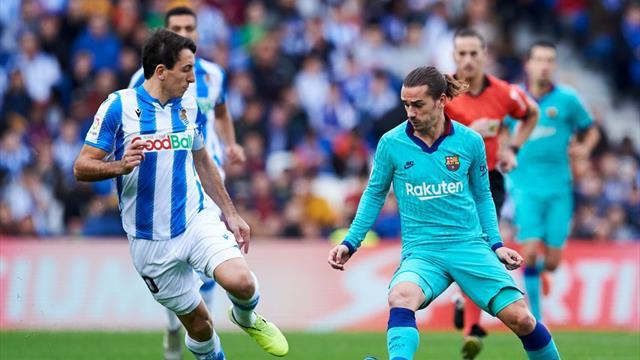Avant le Clasico, le Barça lâche du lest