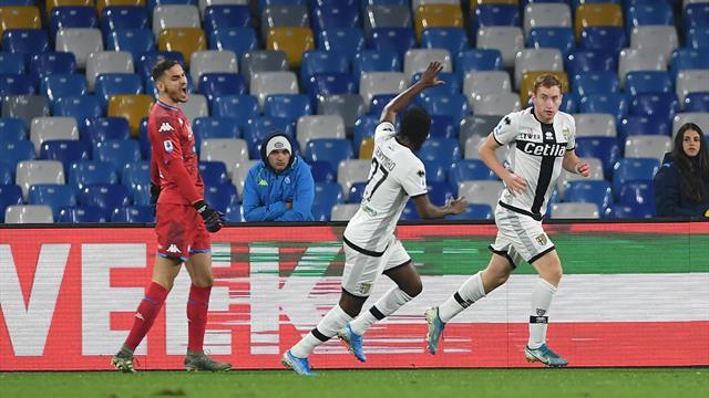 Gattuso rate sa première au Napoli, le derby pour la Samp