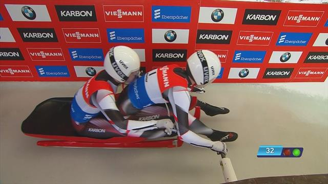 WATCH - Nash and Corless create history in luge