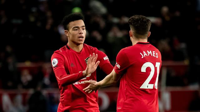 Greenwood rescues point for United against Everton