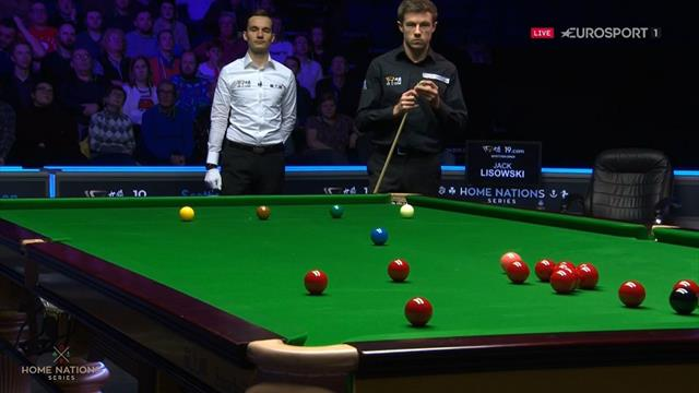 How did he manage that? Lisowski's rotten luck