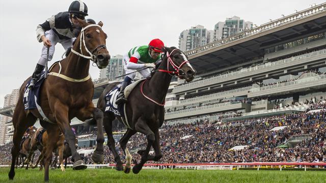 Salios se lleva la Asahi Hai Futurity Stakes